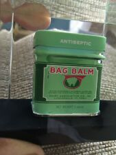 BAG BALM Tin in Lucite Paperweight Tin Dairy Association Rare 100 Year PROMO