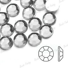 Approx 1000Pcs Crystal Flatback Round Rhinestones Nail Art Craft Phone Wedding