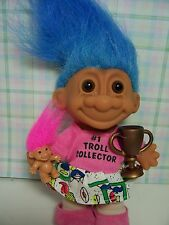 "#1 TROLL COLLECTOR - 5"" Russ Troll Doll - NEW - Rare - LAST ONES"