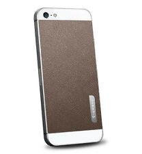 SPIGEN SGP iPhone 5 Skin Guard Set Series Leather Brown SGP09567