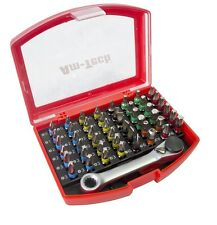 49pc code couleur embouts tournevis set cas fendue Pozi hex philips torx box