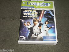 Leapfrog Leapster 2 Game Star Wars Jedi Reading Boys Girls  Age 5-8  Grades K-2