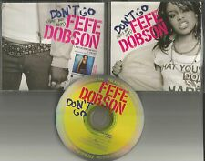FEFE DOBSON Don't Go Girls and Boys USA RARE PROMO Radio DJ CD Single 2004 fe fe