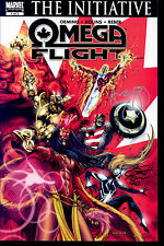 Omega Fight #1 signed by Michael Avon Oeming & Scott Kolins NM