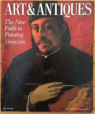 Art & Antiques Magazine - 1 Issue, May 1991 (Absolute Britto)
