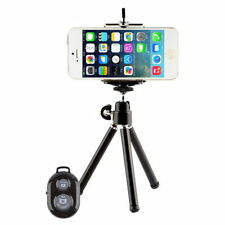 Camera Tripod Stand Holder Bluetooth Shutter Remote Apple iPhone 4S 5S 6 6 plus