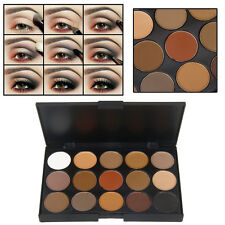 15 Colors Professional Warm Nude Matte Shimmer Makeup Eyeshadow Palette E-93