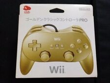 MINT Club Nintendo Golden Classic Controller PRO for Wii JAPAN *FREE SHIPPING*