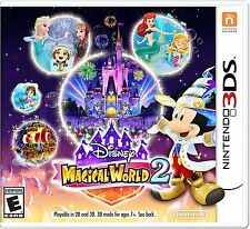 NINTENDO 3DS DISNEY MAGICAL WORLD 2 BRAND NEW VIDEO GAME
