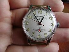 SOVIET RUSSIAN MILITARY SHTURMANSKIE KIROVSKIE POLJOT WATCH