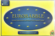 EUROBABBLE STRATEGY BOARD GAME BY PANTS ON FIRE