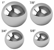 "Assorted Coin Ring Making Steel Balls - Assortment Of 1"", 7/8"", 3/4"" & 5/8"""