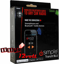 iSimple ISFM23 TranItBLU Universal Bluetooth Radio Interface Kit w/ App Control