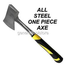 ALL STEEL HAND AXE. HEAVY DUTY 925g.CHOPPER HATCHET KINDLING FIRE WOOD LOGS OA19
