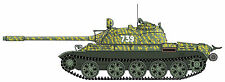 HOOBEN T-55 Main Battle Tank - The African Conflict - 1/16 Scale Decals - NEW!!!