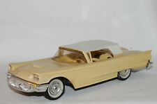 1958 Ford Thunderbird  Promo Car, Casino Cream with White Top,  Nice Original