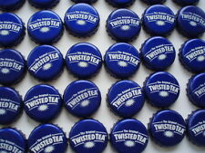 100 TWISTED TEA PURPLE BEER BOTTLE CAPS NO DENTS C STORE 4 MORE FREE SHPG
