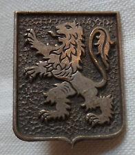Insigne 43° RIA  Régiment Infanterie Alpine Armée Armistice 1941 WWII ORIGINAL