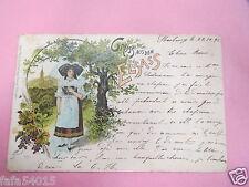 8038 67 GRUSS AUS DEM ELSASS 1891 alsacienne