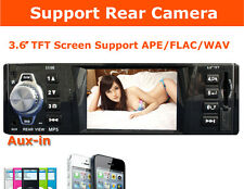 Car Stereo MP4 Radio 3' LCD 1 DIN In Dash 12V SD/USB FM Player Radio For iPhone