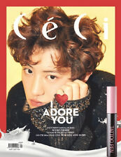 CECI 2017-2 MAGAZINE [ COVER- CHANYEOL ] + SPECIAL PRESENT (TATOO PEN)