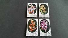 SINGAPORE 1976 SG 272-275 ORCHIDS. FINE USED