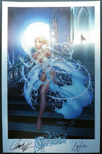 J. SCOTT CAMPBELL SDCC 2013 CINDERELLA METALLIC PRINT / LTD 100