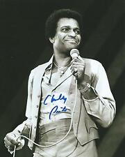 **GFA American Country Singer *CHARLEY PRIDE* Signed 8x10 Photo AD4 COA**