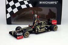 Kimi raikkonen Lotus e20 #9 winner abu dhabi gp fórmula 1 2012 1:18 Minichamps