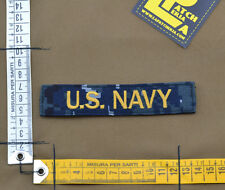 "Ricamata / Embroidered Patch ""U.S. NAVY"" NWU type I with VELCRO® brand hook"