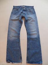 Levi's® 512 Bootcut Jeans Hose W 33 /L 34, Original Vintage Denim, Knopfleiste !