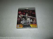 Killer Is Dead Premium Edition PS3 Japanese Import Unopened FREE SHIPPING