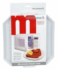 1 x Microwave It Microwaveable Bacon Crisper Cook Defrosting  Plastic Tray rack