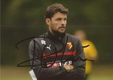 WATFORD: RUBEN MARTINEZ SIGNED 6x4 ACTION PHOTO+COA