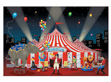 Carnival Backdrop Banner Circus Photo PROP party picture Festival Under Big Top