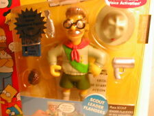 2003 The SIMPSON`s interactive figure WOS series 10  SCOUT MASTER FLANDERS