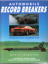 Automobile Record Breakers From Rocket to Road Car by Tremayne 1989