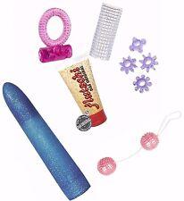 kit sex toy lubrificante sessuale anello vibrante vibratore palline vaginali