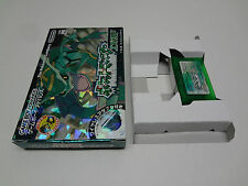 Poket Monster Pokemon Emerald Nintendo Game Boy Advance Japan