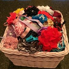 NEW LOT OF 50 MIXED SHABBY SURPRISE FLOWER HEADBANDS-Farmers Market-Boutiques