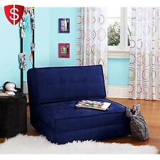 Convertible Fold Down Flip Chair Sleper Bed Guest Lounger Folding Couch