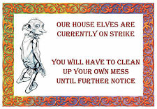 -A3- Dobby House INSPIRATIONAL MOTIVATIONAL FAMOUS QUOTE POSTER PRINT #33