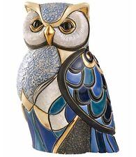 DeRosa Rinconada Blue Owl NIB 1018 Wildlife Collection NEW IN BOX