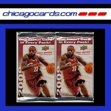 2x 2009-10 UD Basketball 1st Edition Pack (Stephen Curry Rookie Card RC Gold)?
