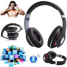 4 in 1 Wireless 3.0 Bluetooth Stereo Headphones Headset Built-In Mic Xmas Gift