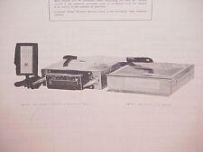 1977 CLARION CB/AM-FM STEREO MPLX RADIO SERVICE MANUAL MODELS RE-366E & JC-201E