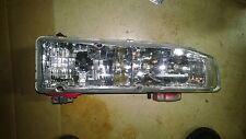 1990-1993 Honda Accord Passenger Right Headlight Chrystal Glass DEPO