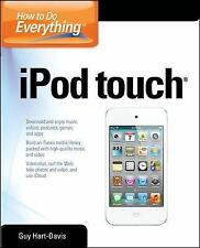 How to Do Everything iPod Touch, Hart-Davis, Guy, Good Condition, Book