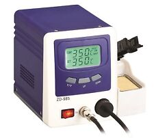 Vacuum Desoldering Rework Station Digital Temperature Controlled Dual LCD ZD-985