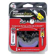 "Oregon PS52E 35cm 14"" PowerSharp Chainsaw Chain + Sharpening Stone 52 Drive Link"